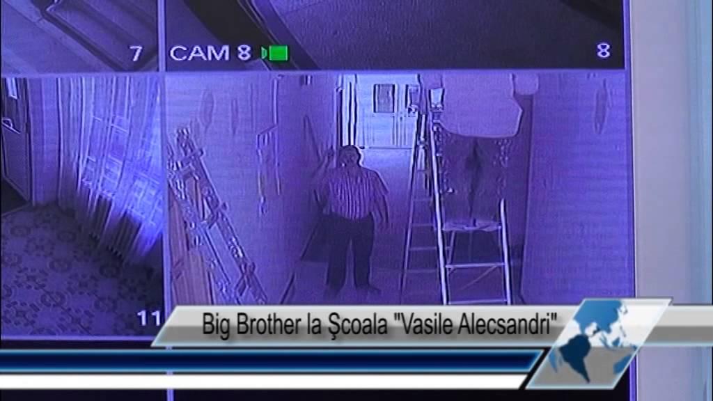 Big Brother la Şcoala Vasile Alecsandri
