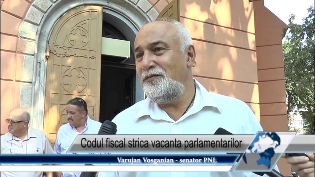 Codul fiscal strică vacanţa parlamentarilor