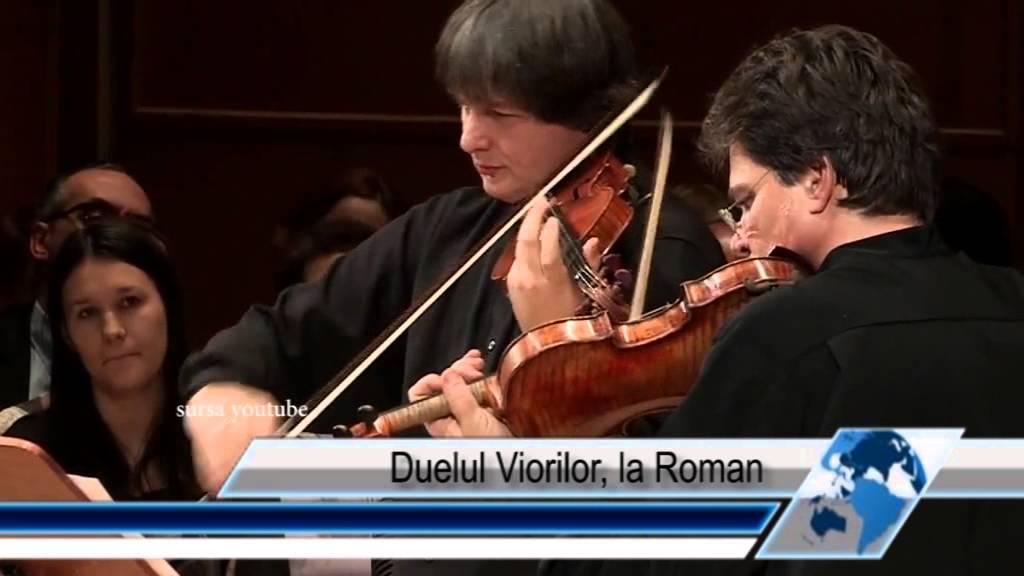 Duelul Viorilor, la Roman