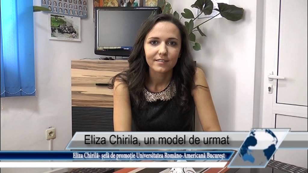 Eliza Chirilă, un model de urmat
