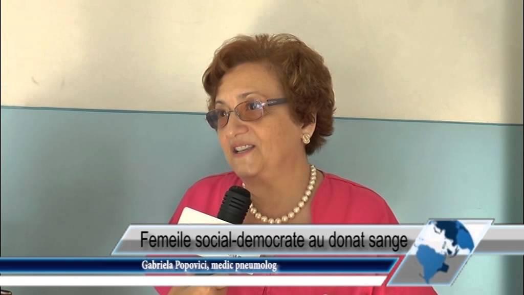 Femeile social-democrate au donat sânge
