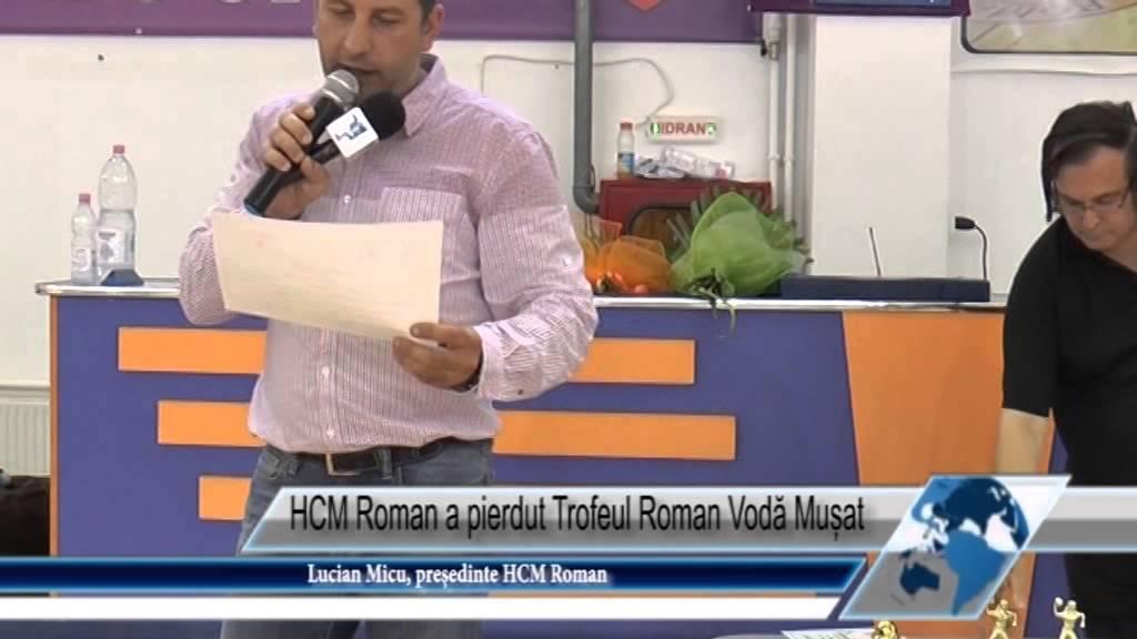 HCM Roman a pierdut Trofeul Roman Vodă Mușat