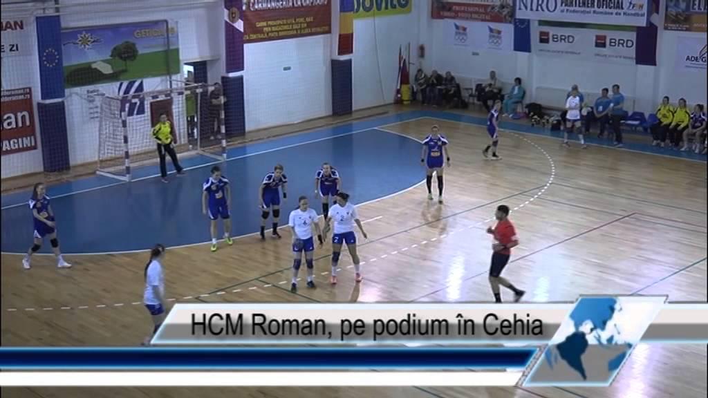 HCM Roman, pe podium în Cehia
