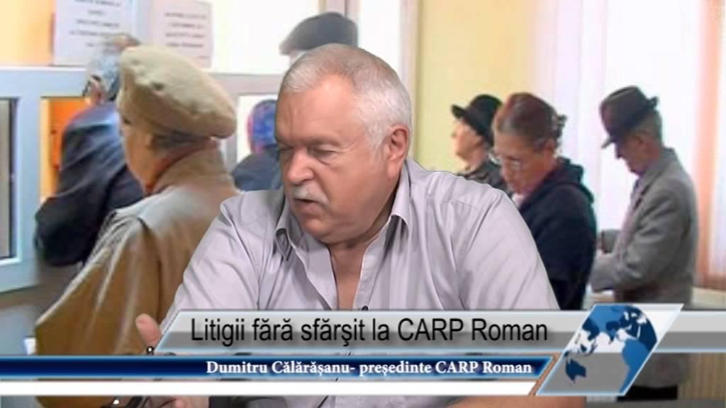 Litigii fără sfărşit la CARP Roman