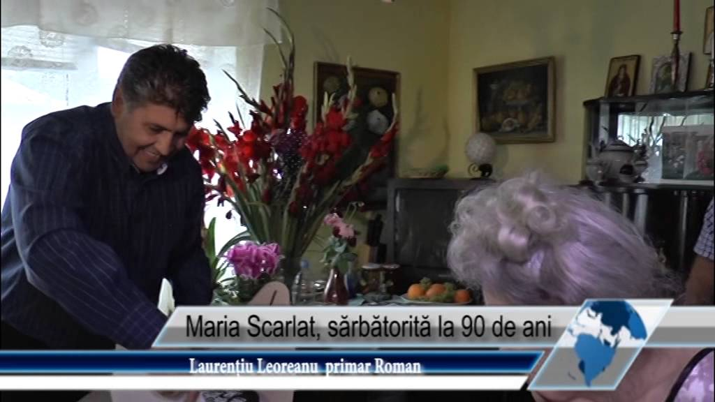 Maria Scarlat, sărbătorită la 90 de ani