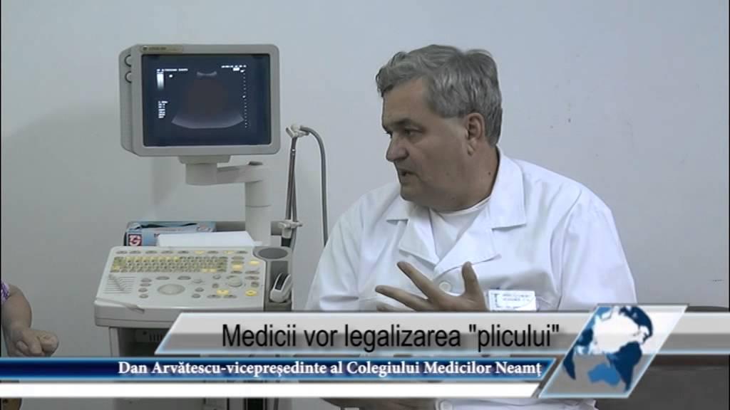 Medicii vor legalizarea plicului