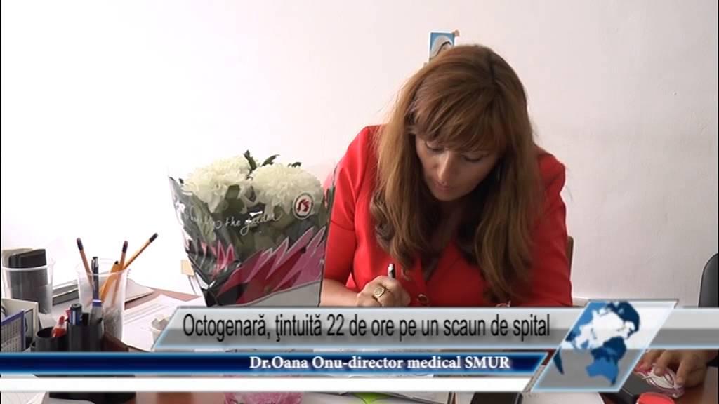 Octogenară, ţintuită 22 de ore pe un scaun de spital