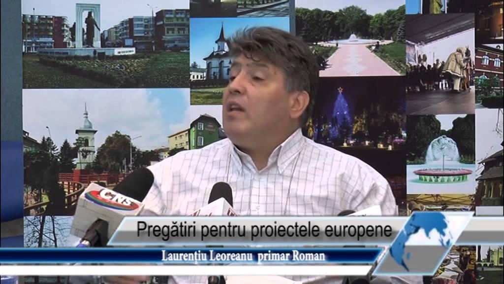 Pregătiri pentru proiectele europene