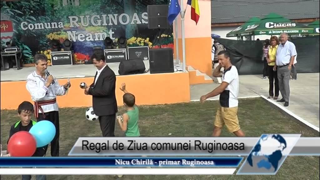 Regal de Ziua comunei Ruginoasa