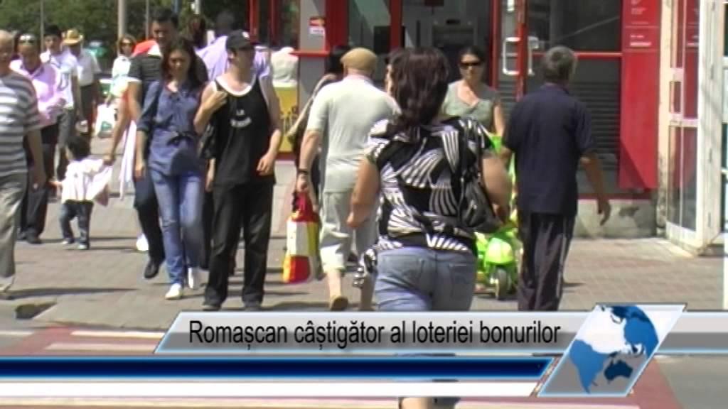Romașcan câștigător al loteriei bonurilor