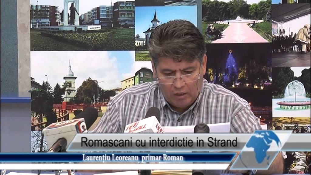 Romascani cu interdictie in strand