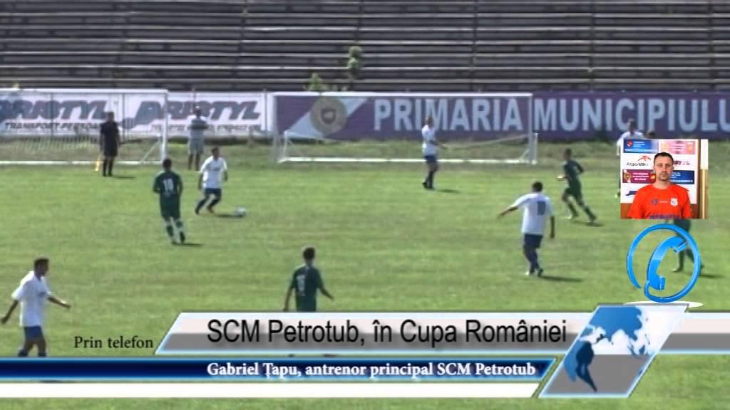 SCM Petrotub, în Cupa României