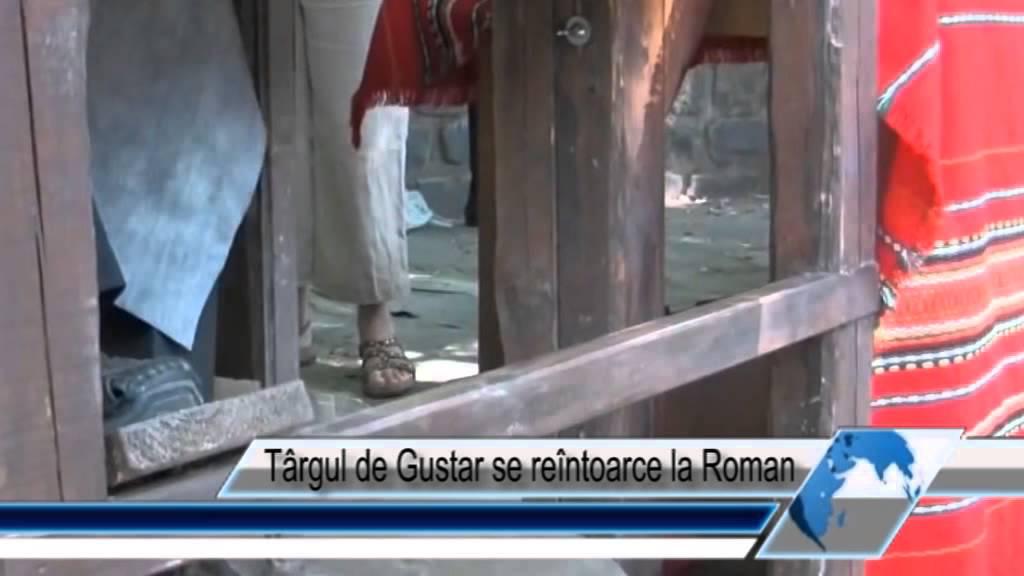 Târgul de Gustar se reîntoarce la Roman