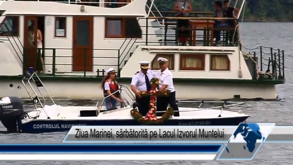 Ziua Marinei, sărbătorită pe Lacul Izvorul Muntelui