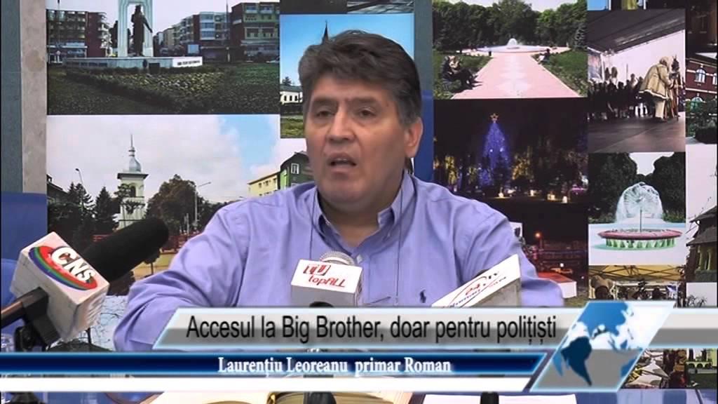 Accesul la Big Brother, doar pentru polițiști