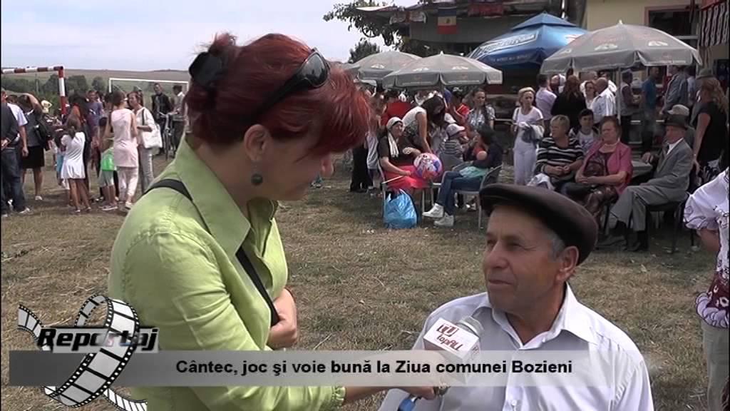 Cântec, joc şi voie bună la Ziua comunei Bozieni