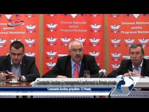 Constantin Iacoban şi managemetul performant la firmele private