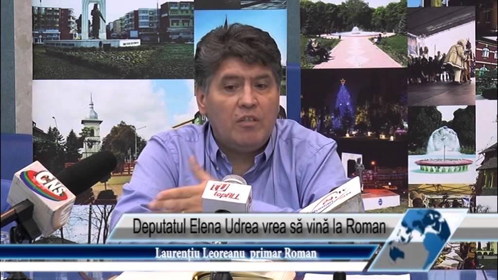Deputatul Elena Udrea vrea să vină la Roman