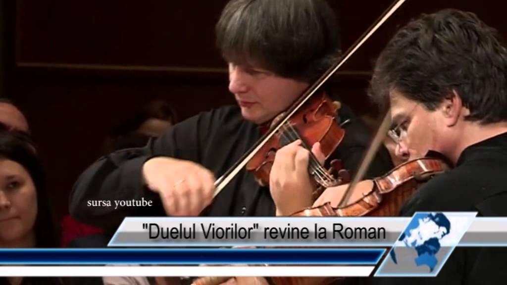 Duelul Viorilor revine la Roman