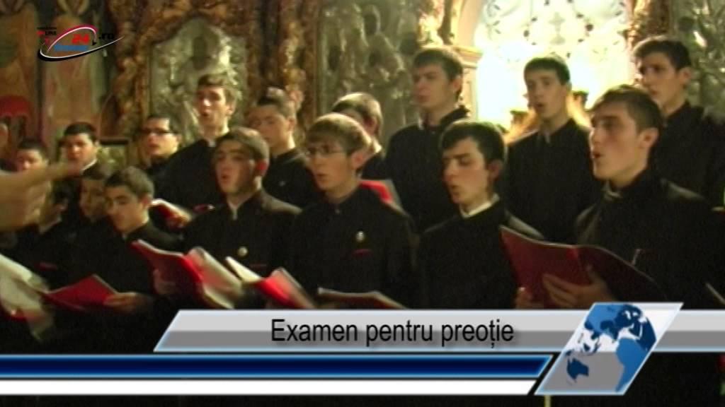 Examen pentru preoție