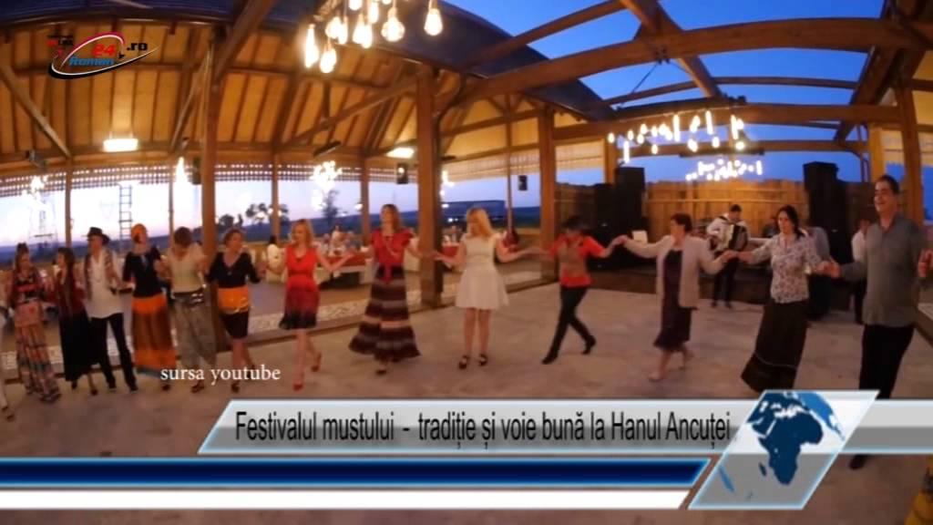 Festivalul mustului-tradiție și voie bună la Hanul Ancuței