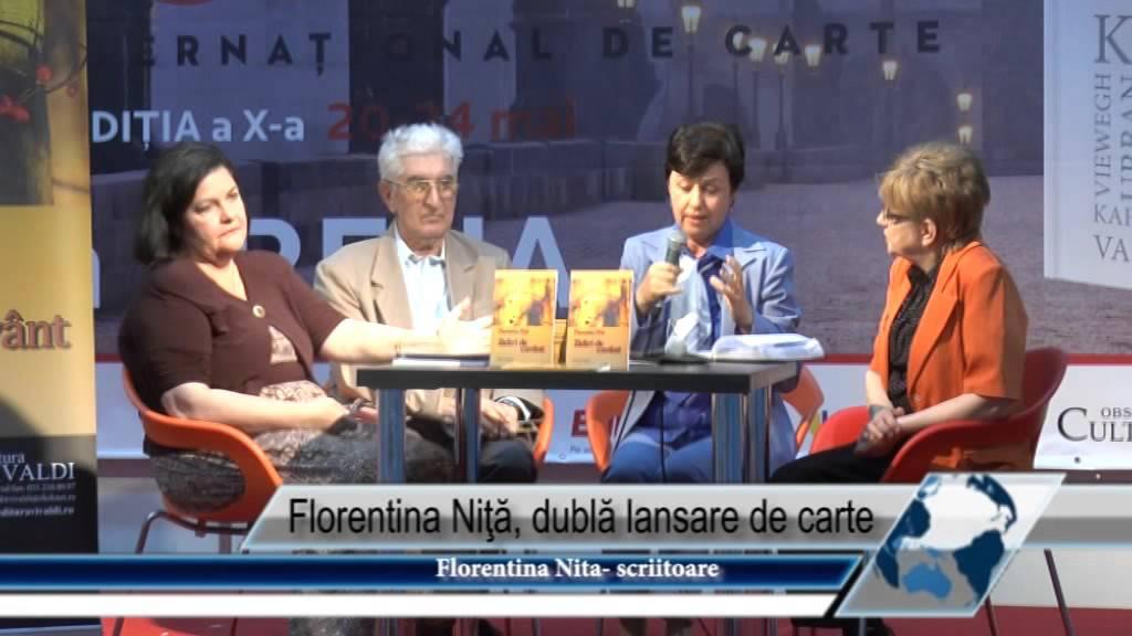 Florentina Niţă, dublă lansare de carte