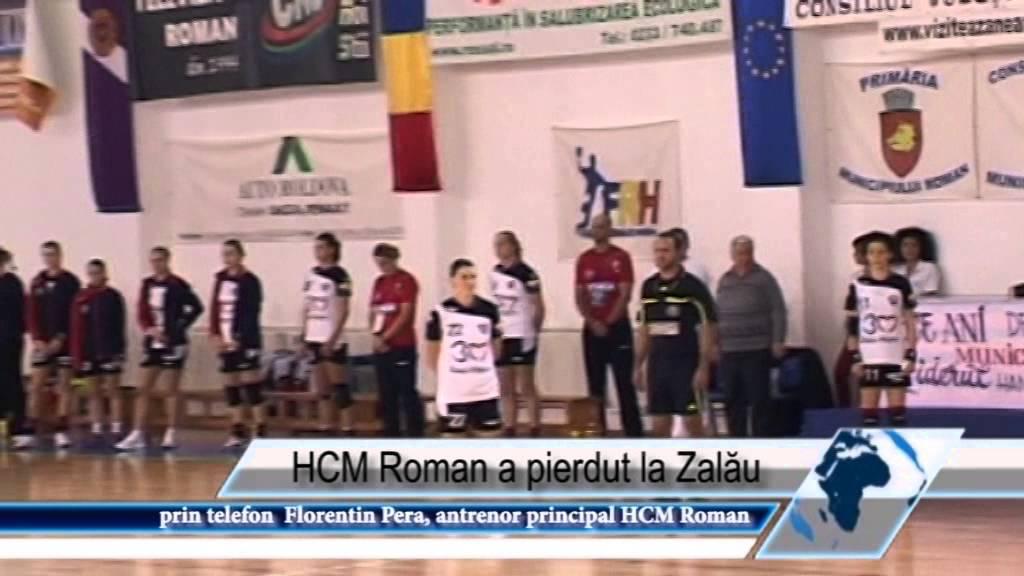 HCM Roman a pierdut la Zalău