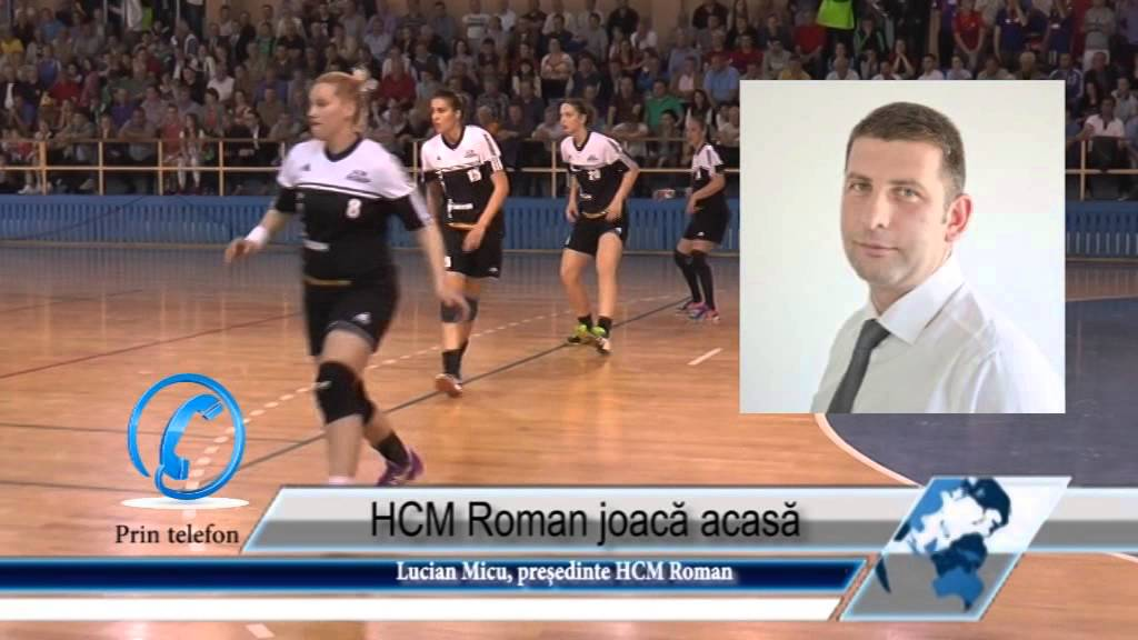 HCM Roman joacă acasă