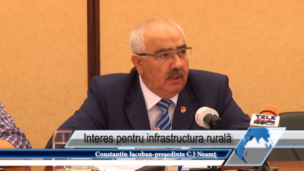 Interes pentru infrastructura rurală