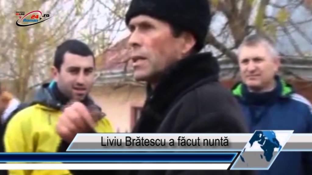 Liviu Brătescu a făcut nuntă