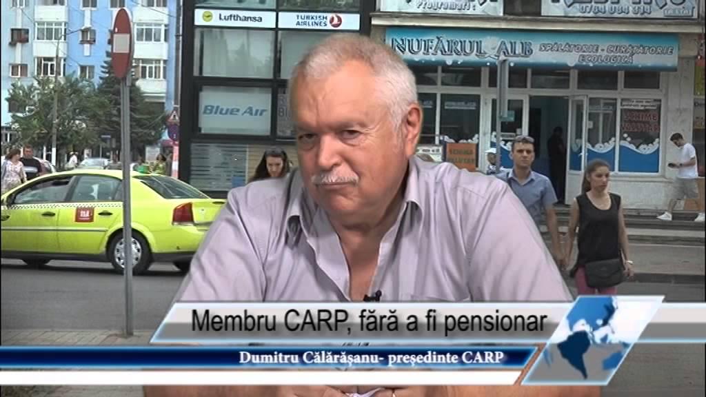 Membru CARP, fără a fi pensionar