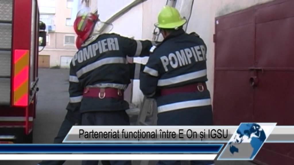 Parteneriat funcțional între E On și IGSU