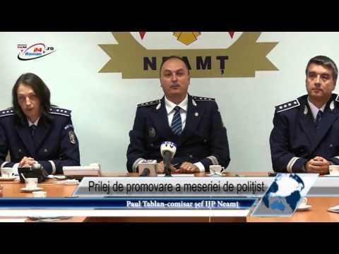 Prilej de promovare a meseriei de poliţist