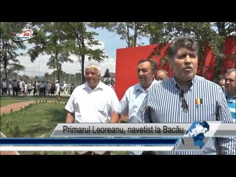 Primarul Leoreanu, navetist la Bacău