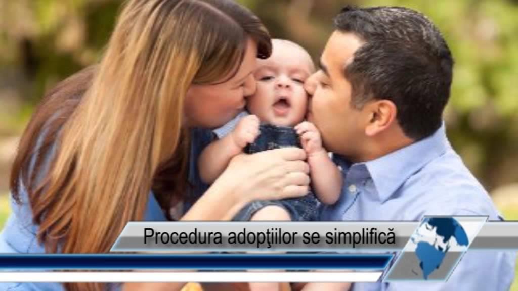 Procedura adopţiilor se simplifică