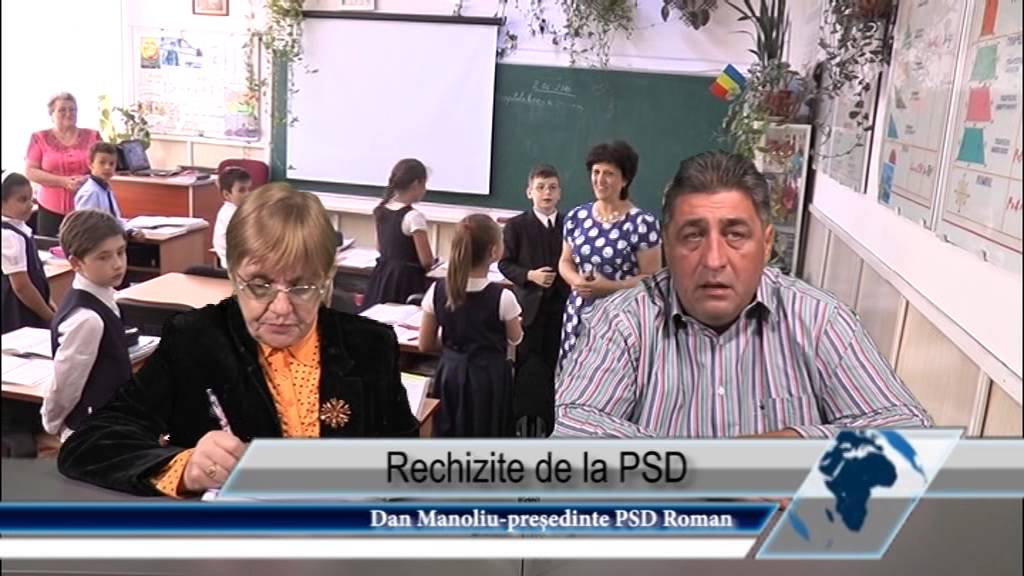 Rechizite de la PSD