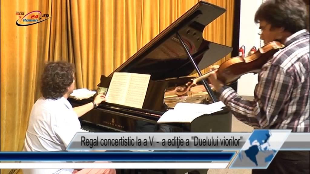 Regal concertistic la a V‐a ediţie a Duelului viorilor