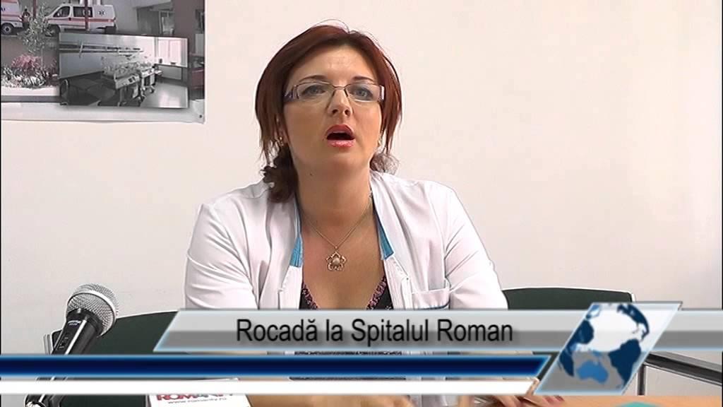 Rocadă la Spitalul Roman
