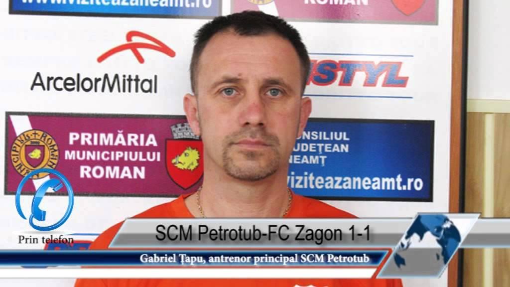 SCM Petrotub-FC Zagon 1-1