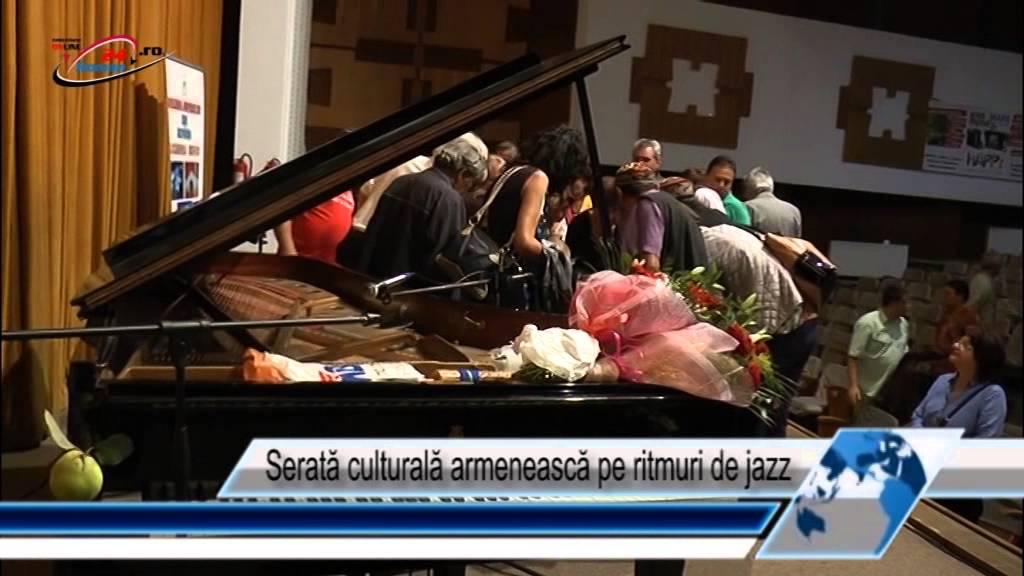 Serată culturală armenească pe ritmuri de jazz