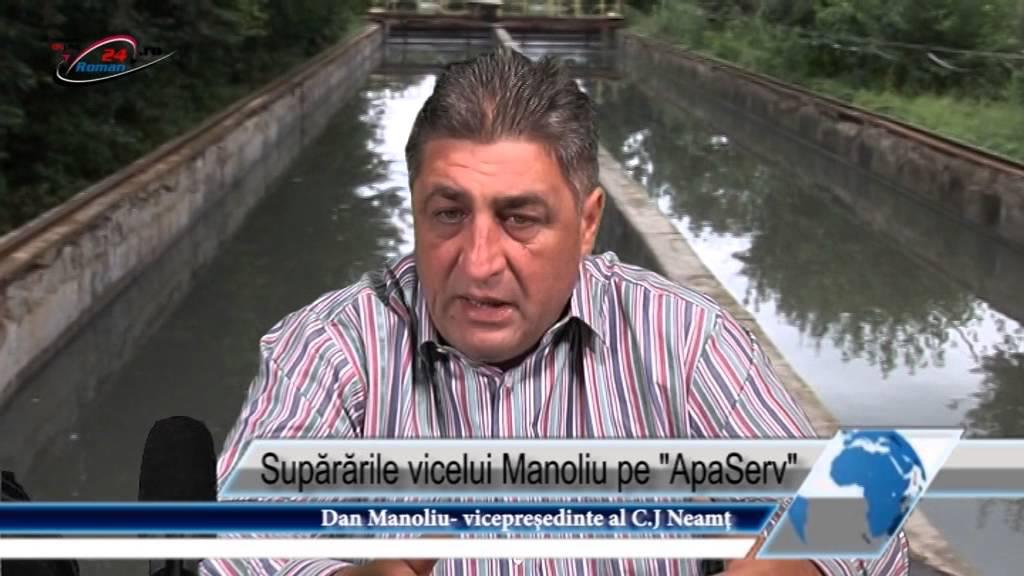 Supărările vicelui Manoliu pe ApaServ