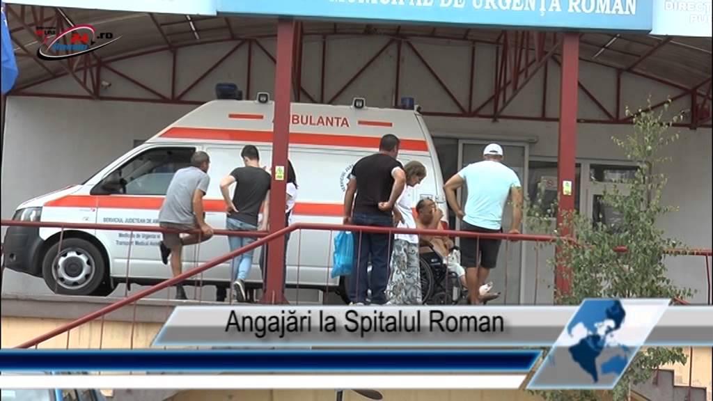 Angajări la Spitalul Roman