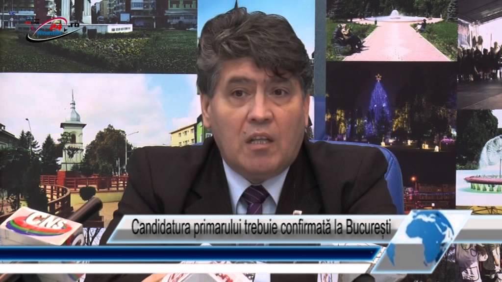 Candidatura primarului trebuie confirmată la București
