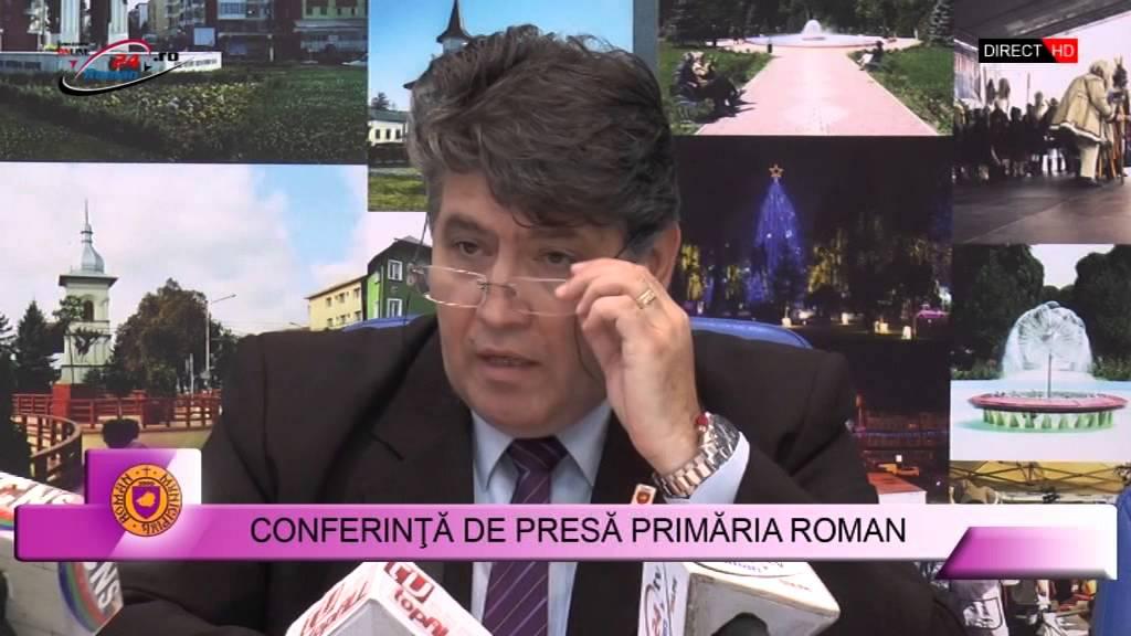 Conferinta de Presa Primaria Roman 05.10.2015