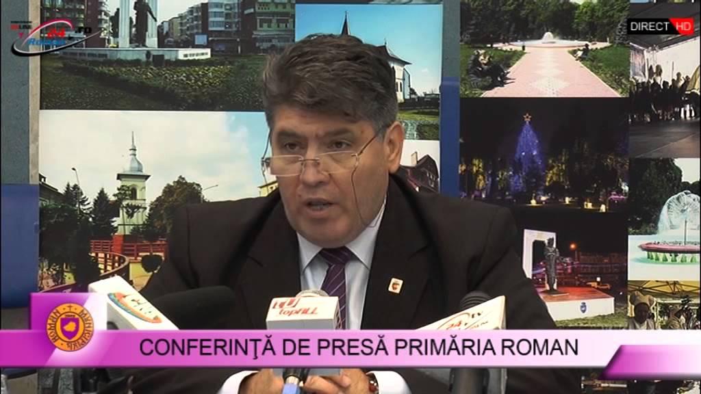 Conferinta de presa Primaria Roman -12.10.2015