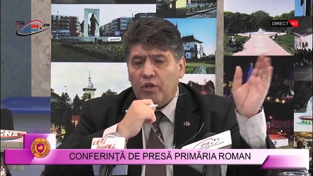 Conferinta de Presa Primaria Roman 26.10.2015