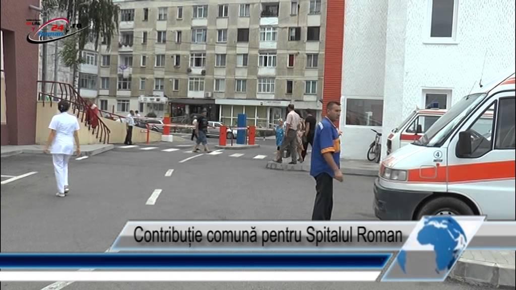 Contribuție comună pentru Spitalul Roman