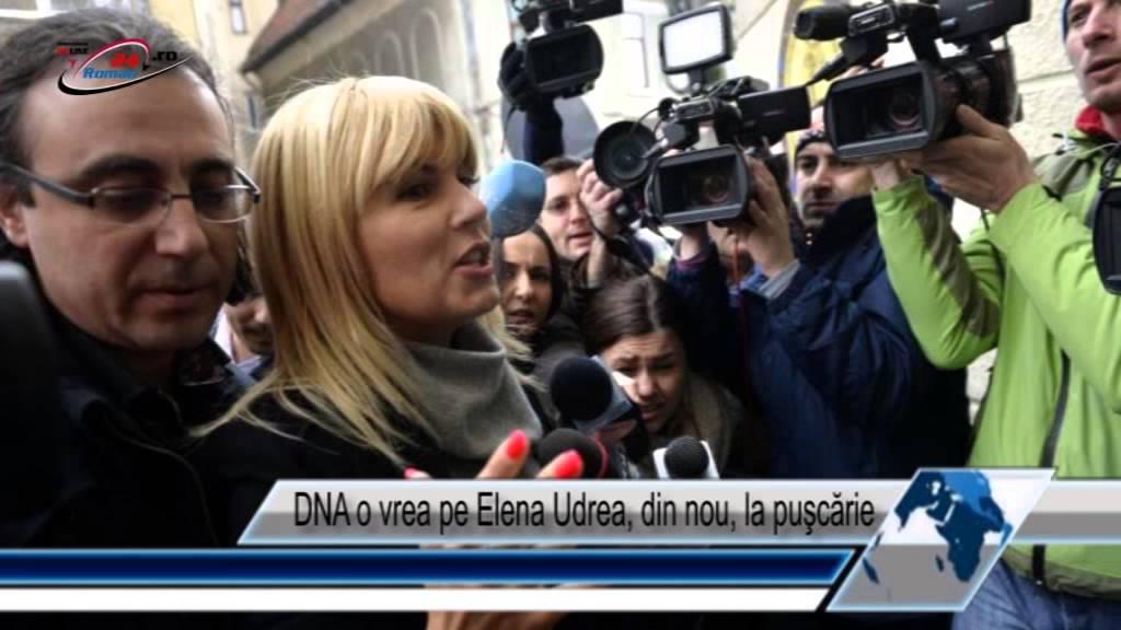 DNA o vrea pe Elena Udrea, din nou, la puşcărie
