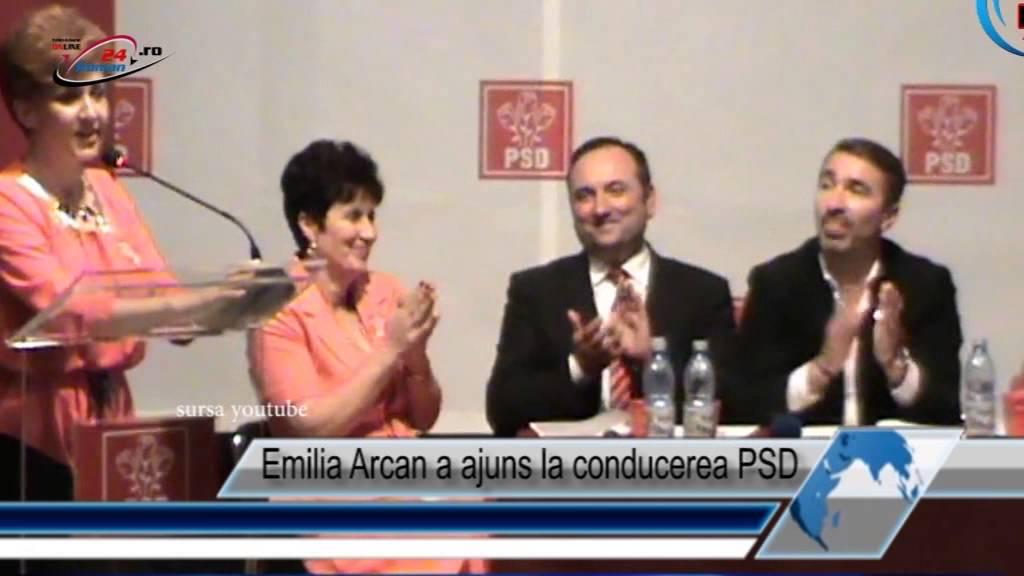 Emilia Arcan a ajuns la conducerea PSD