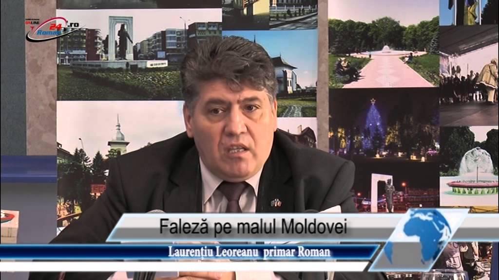 Faleză pe malul Moldovei